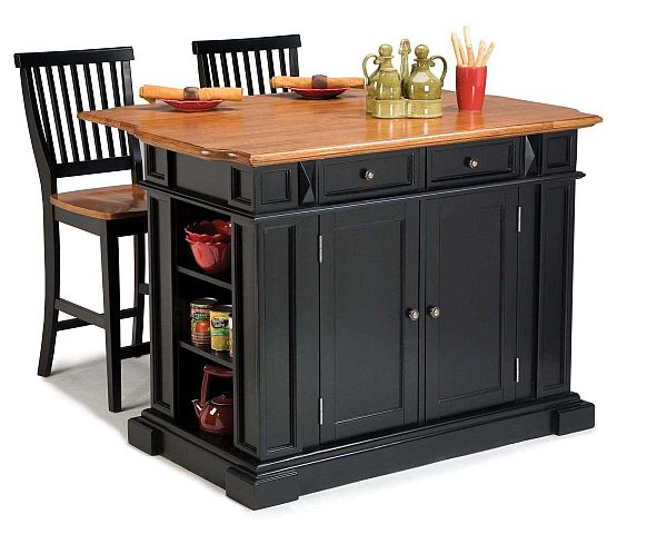 Small kitchen island cart photo - 3