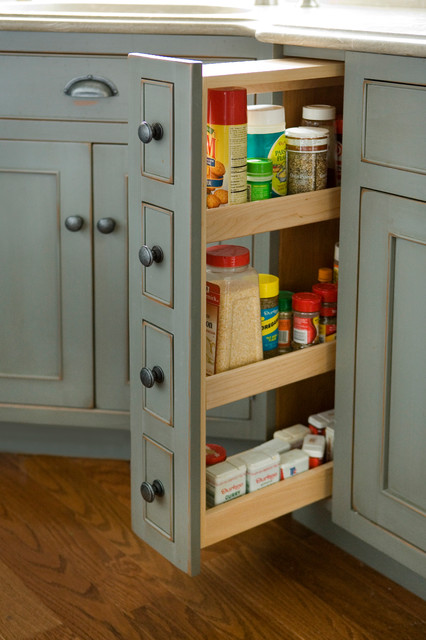 Small kitchen pantry cabinet photo - 1