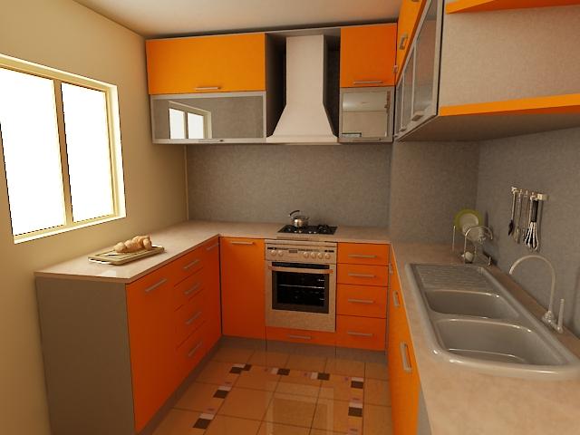 Small kitchen sets photo - 2