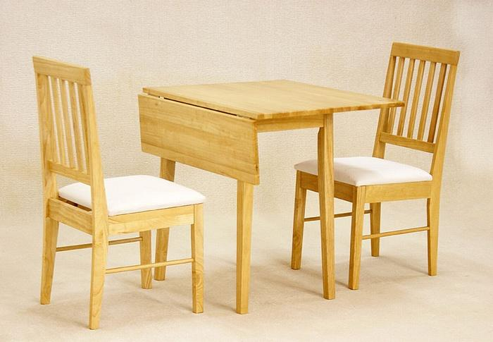 Small kitchen table and chairs for two photo - 1