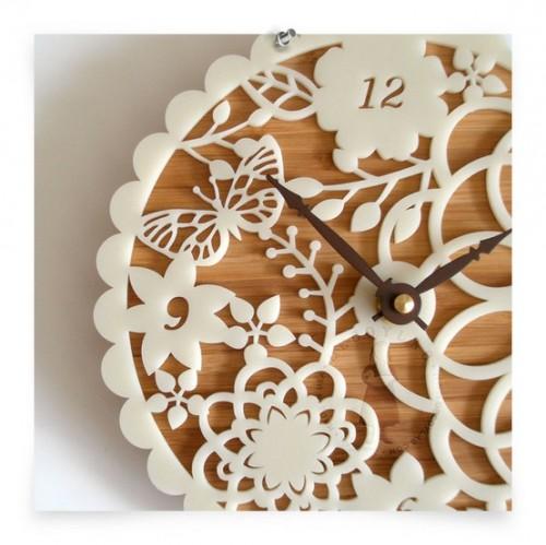 Small kitchen wall clocks photo - 2