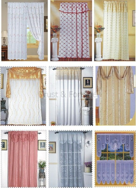Small kitchen window curtains kitchen ideas for Curtain styles for small windows