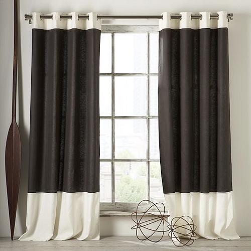Small kitchen window curtains photo - 3