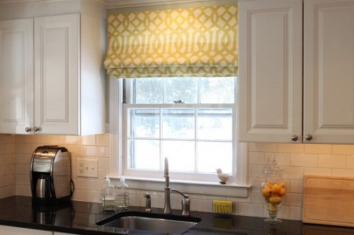 Charming 10 Photos To Small Kitchen Window Treatments