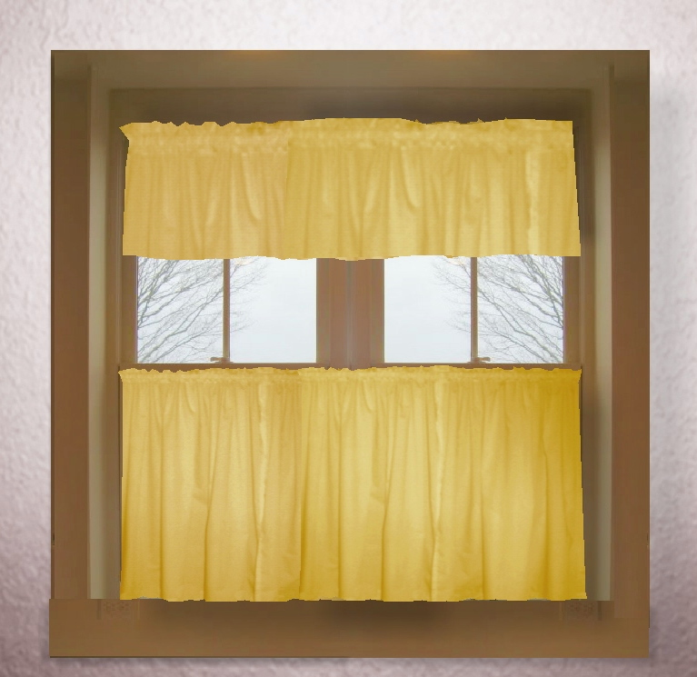 Solid Color Kitchen Curtains Kitchen Ideas