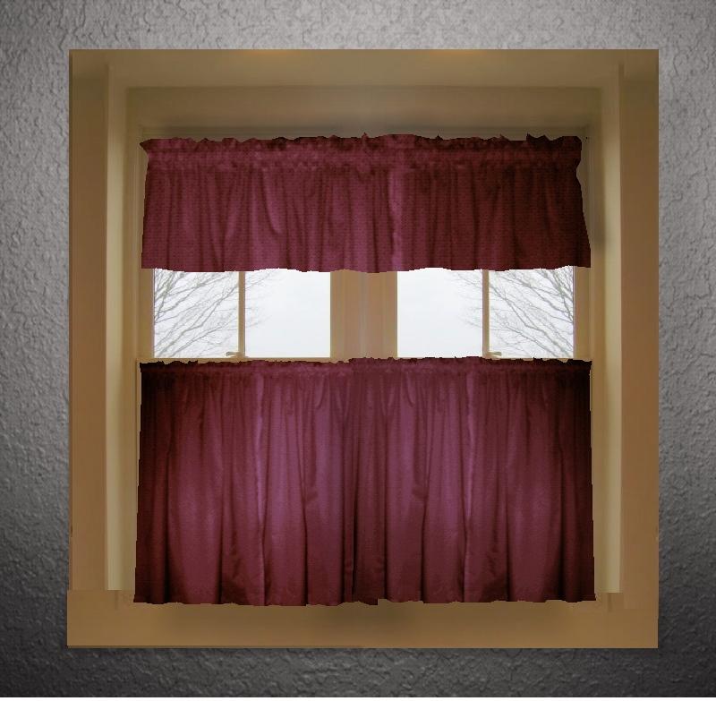 Solid color kitchen curtains | | Kitchen ideas