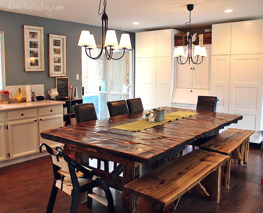 10 Photos To Solid Wood Kitchen Table Sets