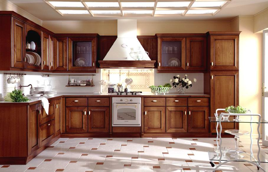 Solid wood kitchen tables and chairs photo - 2