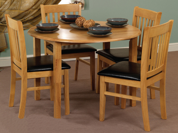 Space saver kitchen table and chairs photo - 2