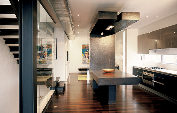 Space saver kitchen table and chairs photo - 3