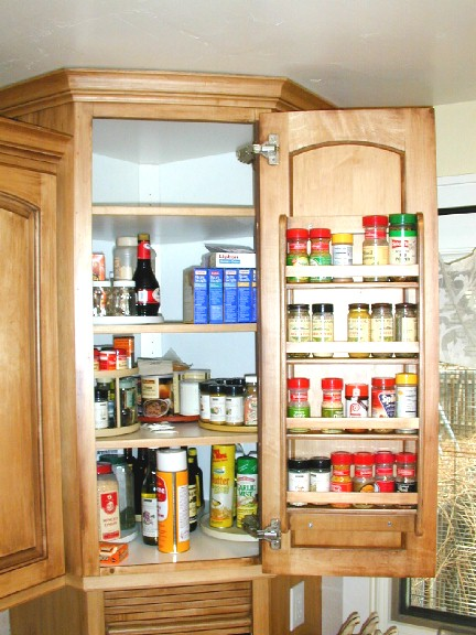 Spice racks for kitchen cabinets photo - 2