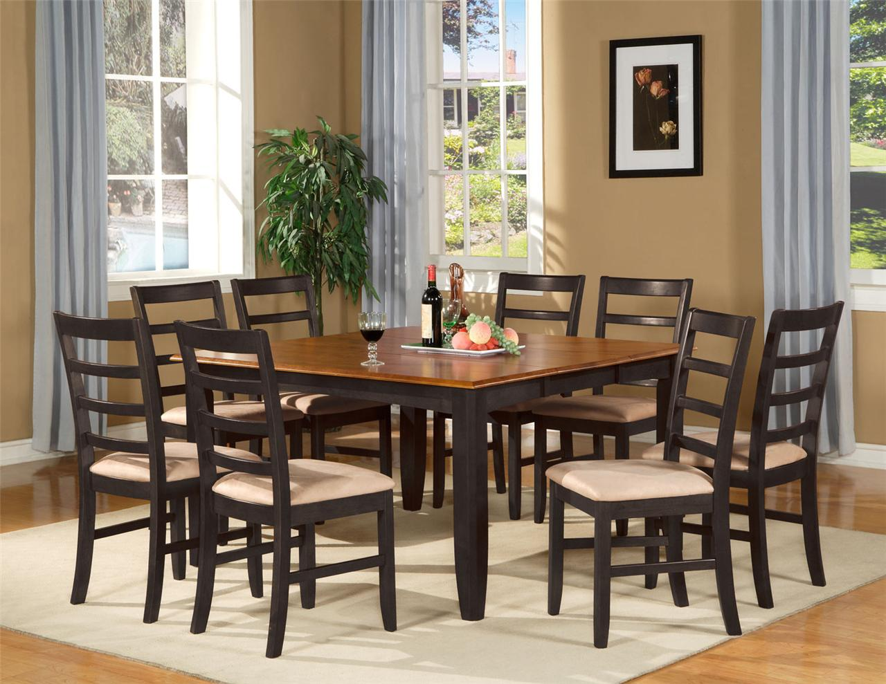 Square kitchen table sets photo - 2