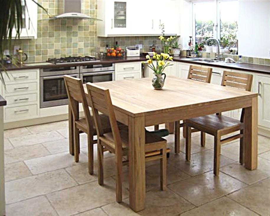 Square kitchen tables photo - 1