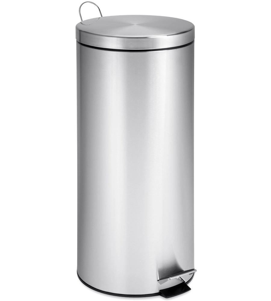 Stainless steel garbage can for kitchen photo - 3