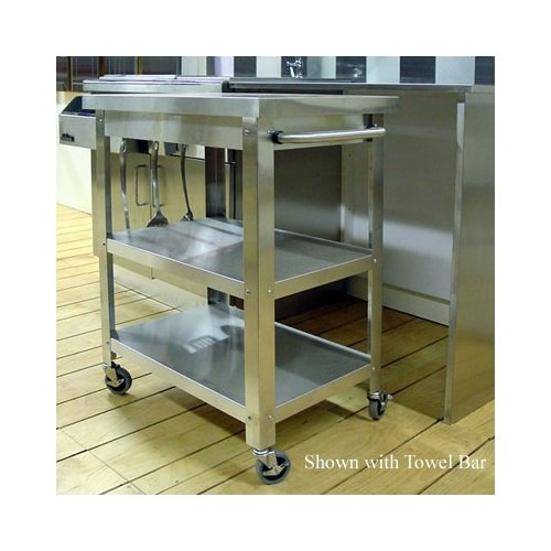 Stainless steel kitchen cart – Kitchen ideas