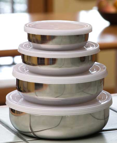 10 Photos To Stainless Steel Kitchen Containers