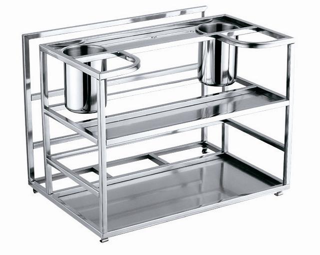Stainless steel kitchen rack photo - 1