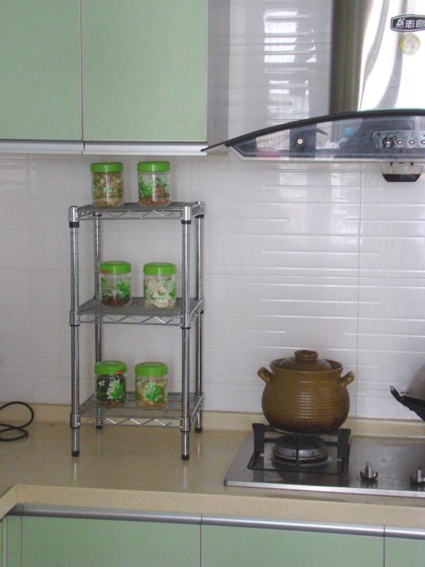 Stainless steel kitchen rack photo - 3