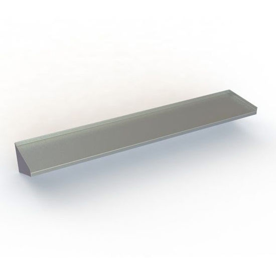 Stainless steel kitchen shelves photo - 2