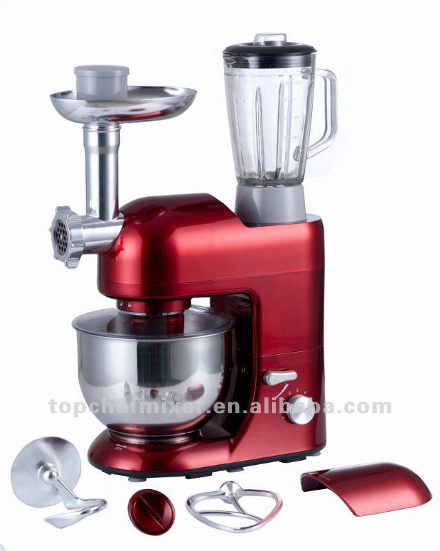 Stainless steel kitchenaid mixer photo - 2