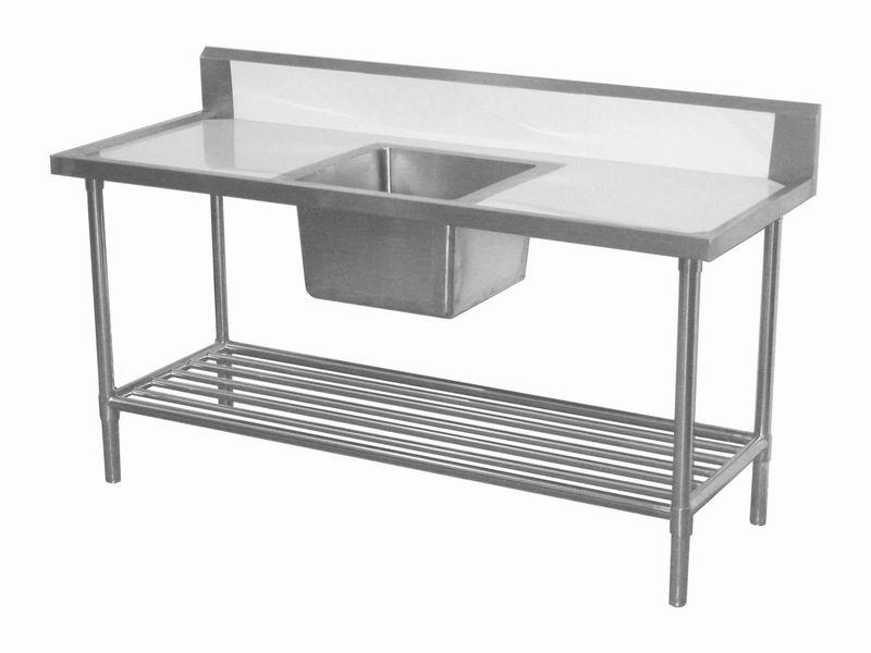 Stainless steel top kitchen island photo - 3