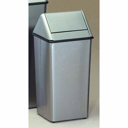 Stainless steel trash can kitchen photo - 2