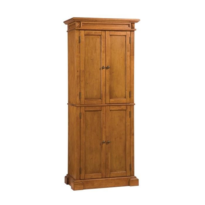 Stand alone kitchen pantry cabinet photo - 3