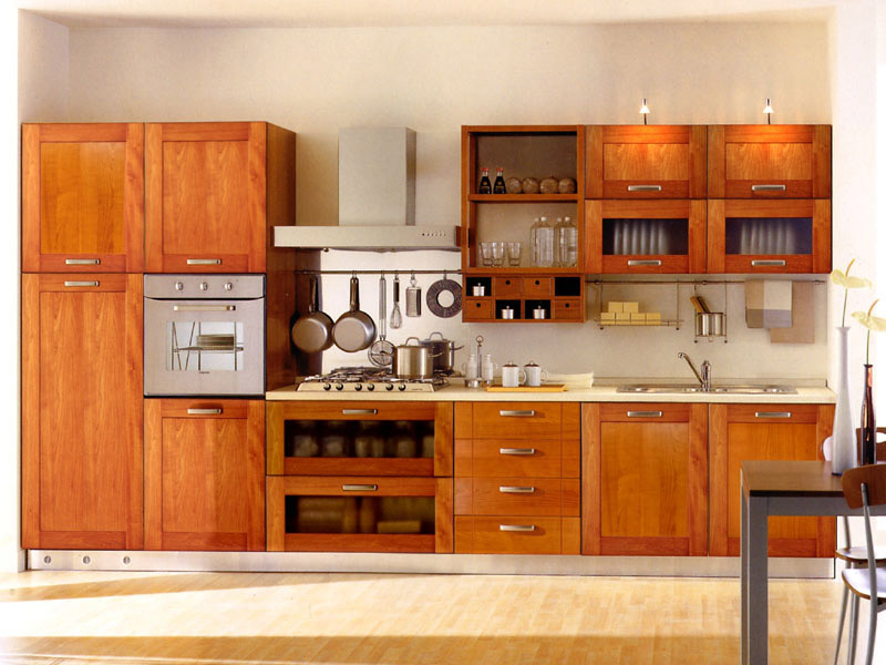 Standing kitchen cabinet photo - 2