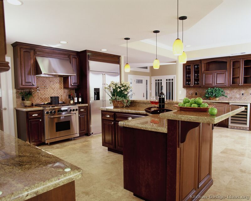Steel kitchen island photo - 3