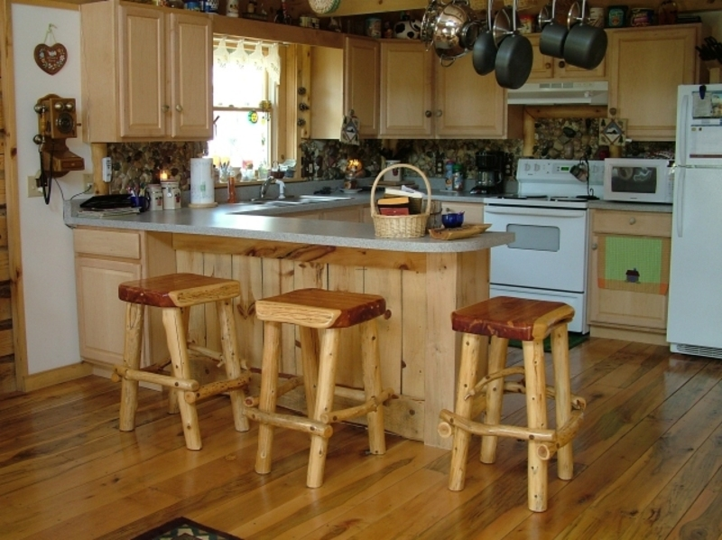 Stools for kitchen counter photo - 3