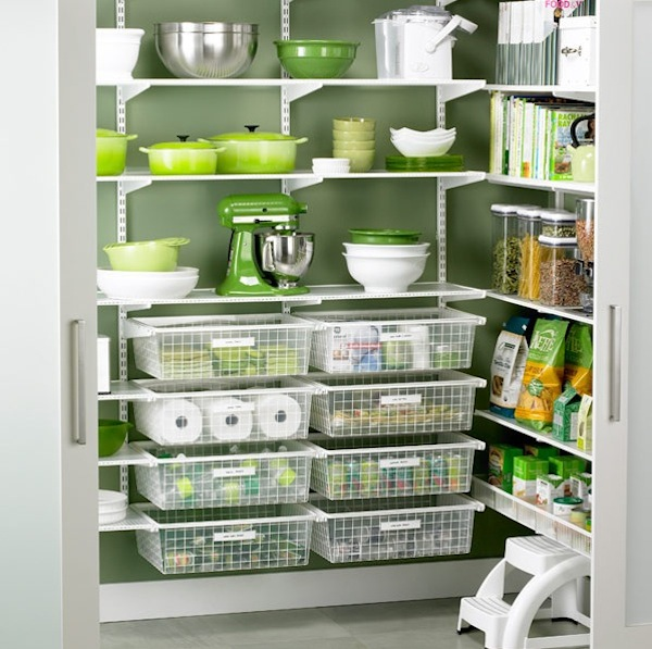 Storage pantry for kitchen photo - 1