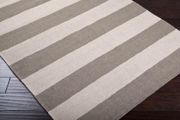 Striped kitchen rug photo - 2