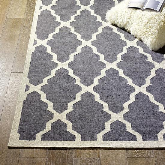 Striped kitchen rug photo - 3