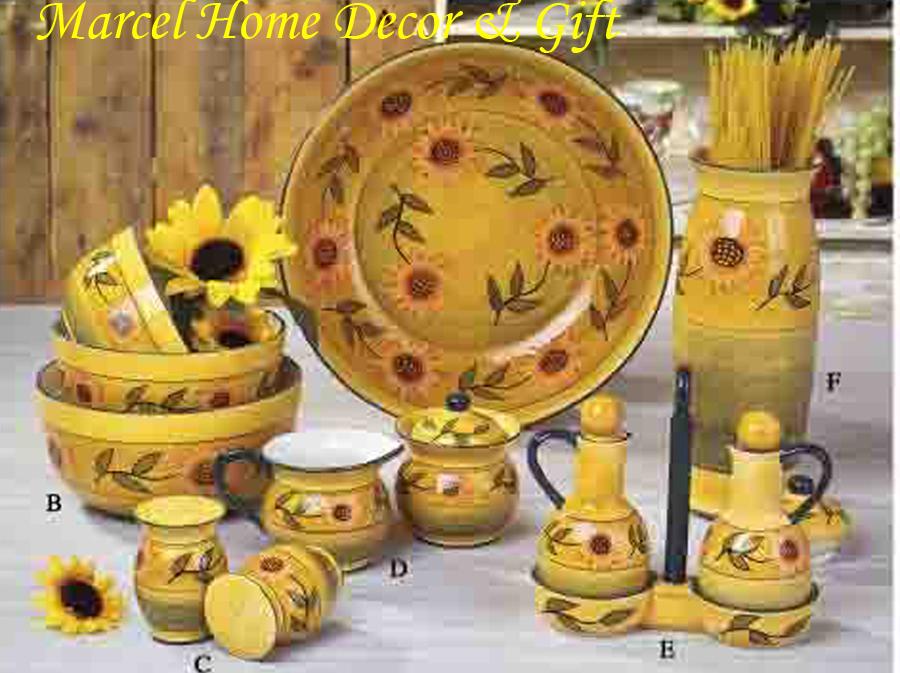 Sunflower Kitchen Decor Kitchen Ideas