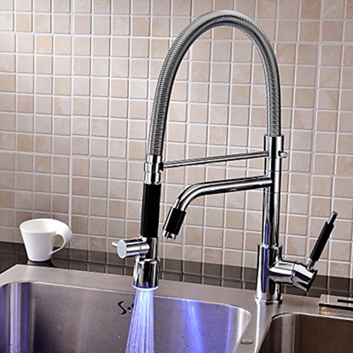 Tall kitchen faucets photo - 1