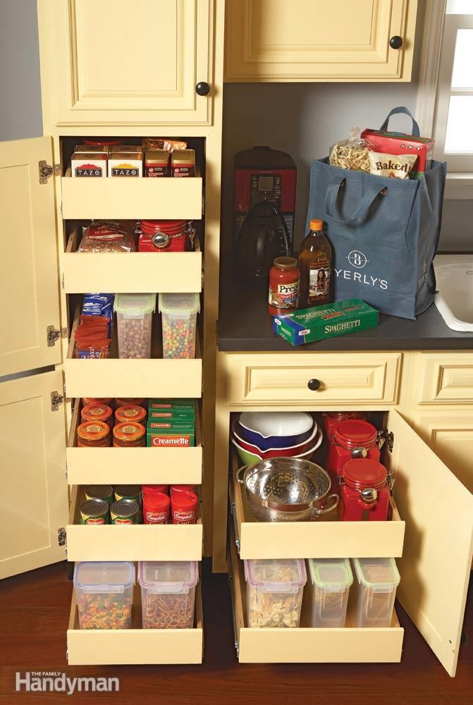Tall kitchen pantry cabinet photo - 3