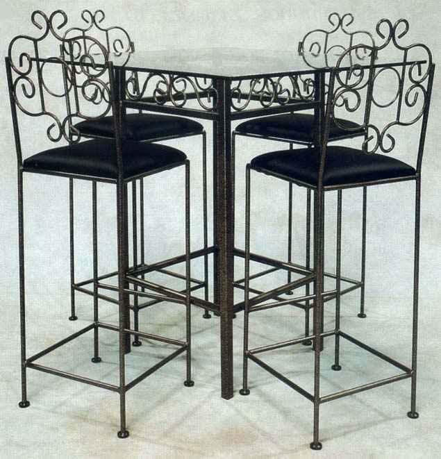 Tall kitchen stools photo - 3