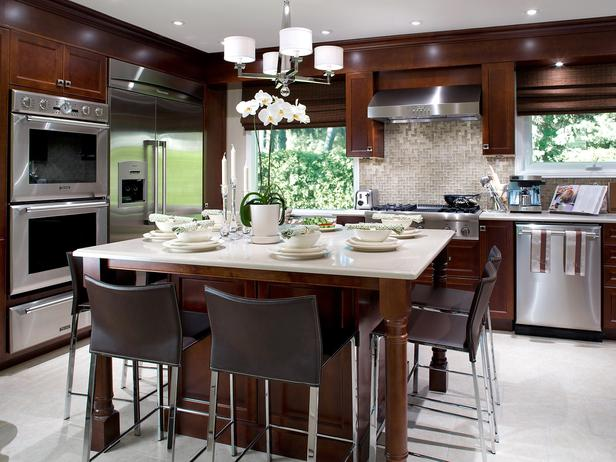 Tall kitchen tables and chairs photo - 3
