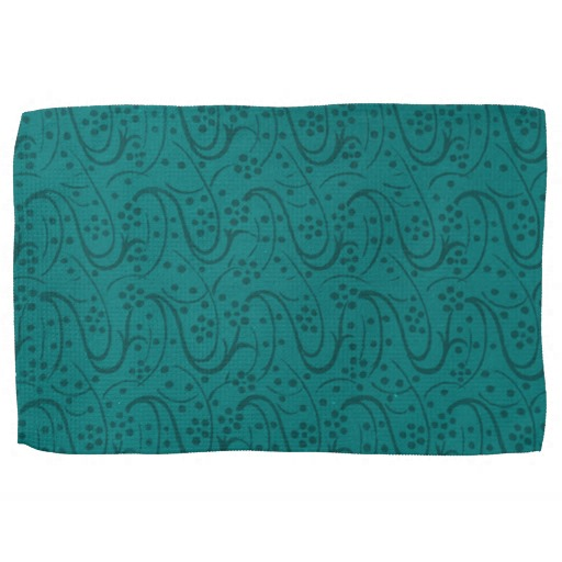Teal kitchen towels photo - 3