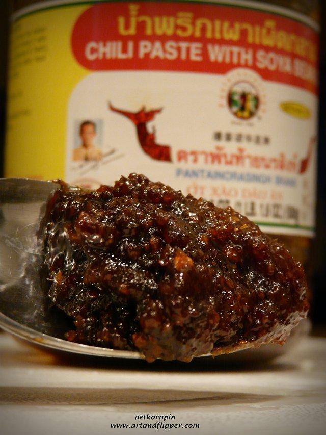 Thai kitchen roasted red chili paste photo - 1