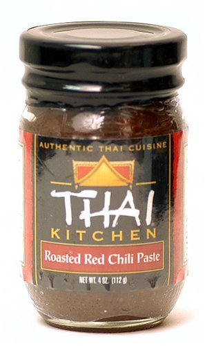 Thai kitchen roasted red chili paste photo - 2