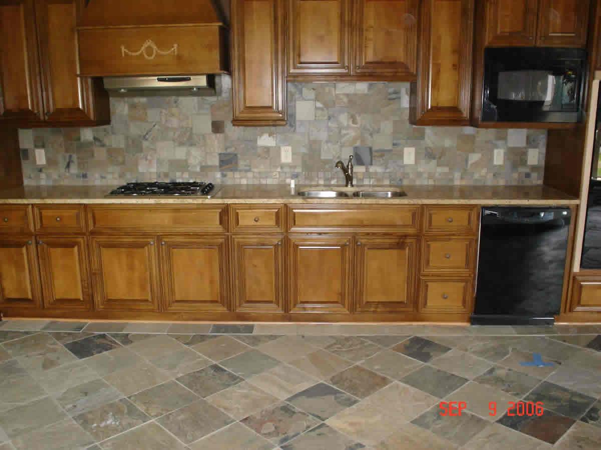 Tile kitchen table photo - 1