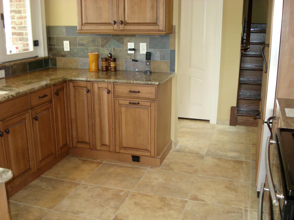 Tile top kitchen tables photo - 1