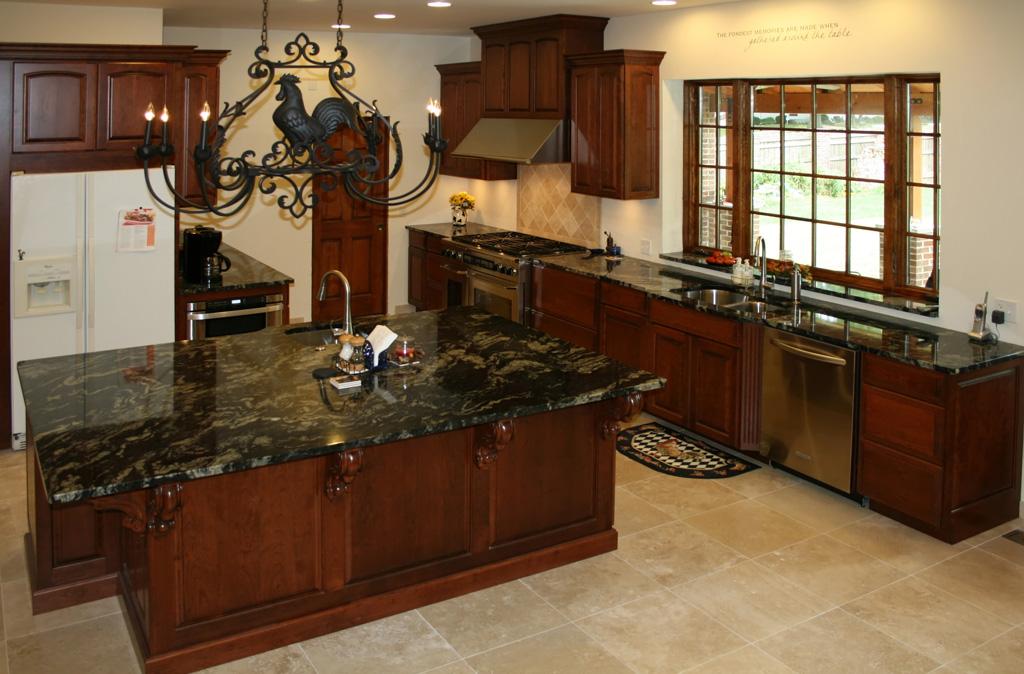 Tile top kitchen tables photo - 2