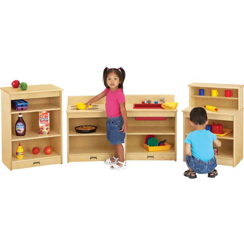 Toddler wooden kitchen photo - 2