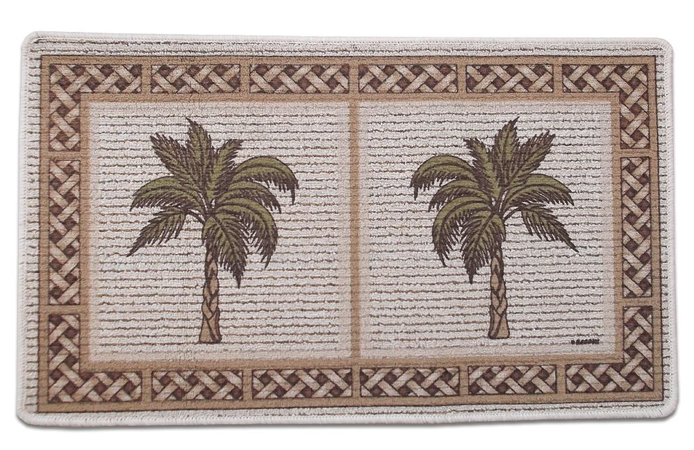Tropical kitchen rugs photo - 2