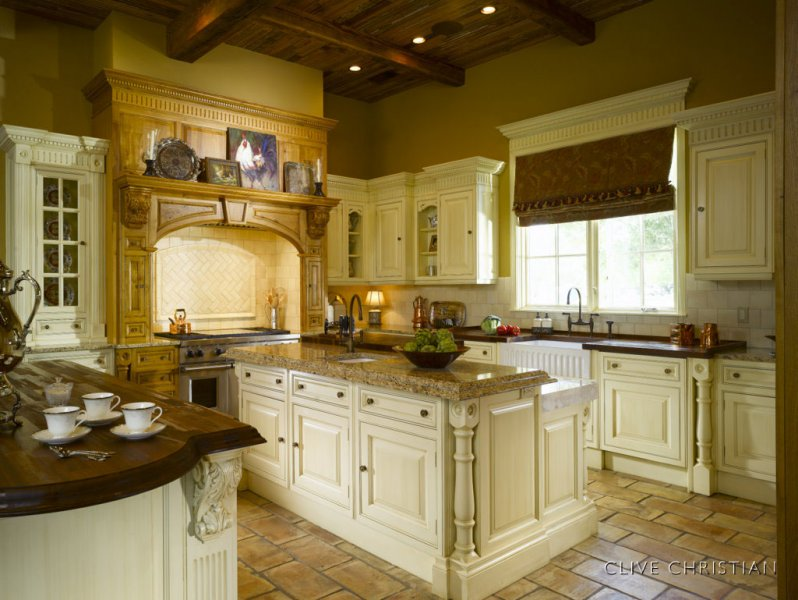 Tuscan kitchen curtains photo - 2
