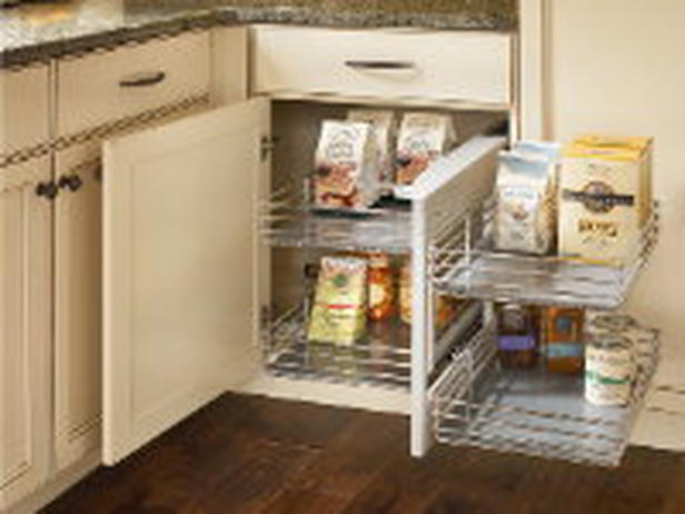 Under cabinet kitchen storage photo - 3