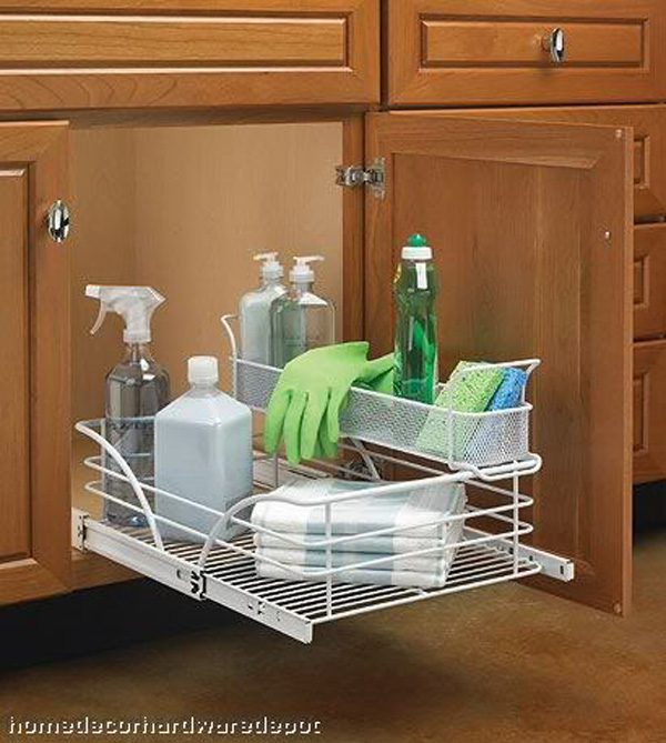 nice Under Cabinet Organizers Kitchen #7: Under cabinet organizers kitchen photo - 3