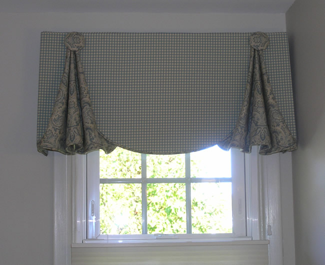 Valances for kitchen windows photo - 3